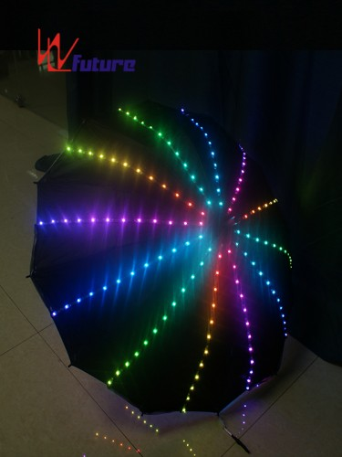 Hight quality LED light up umbrella for stage dance show WL-0162
