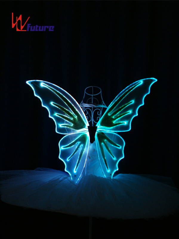 OEM Manufacturer Kids Costume Party Decoration Led Light Fairy Butterfly Wings WL-0171A Featured Image