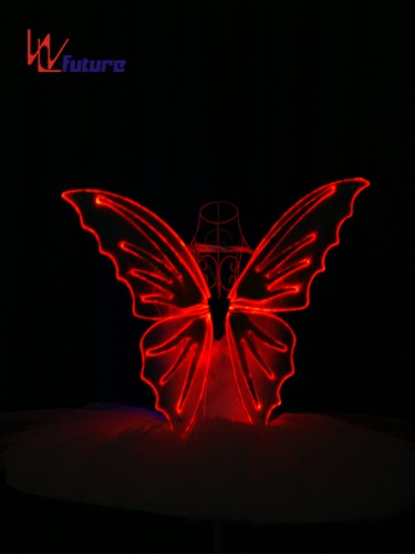 OEM Manufacturer Kids Costume Party Decoration Led Light Fairy Butterfly Wings WL-0171A
