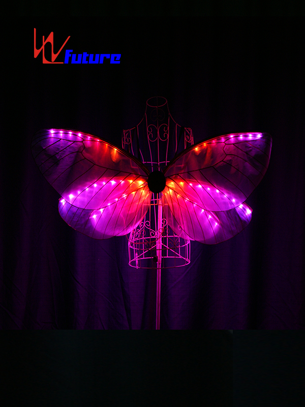 OEM Factory for Coolest Led Costumes - Lovely Girls Rainbow LED Butterfly Wings For Party Show WL-0171B – Future Creative