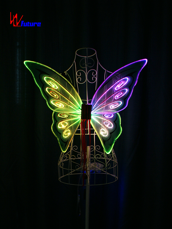 Wholesale Price China Dc5v 8a Battery - Glowing fiber optic lights butterfly wings for show WL-0171C – Future Creative