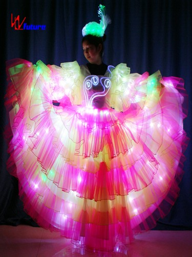 Spanish style LED dress costume for parade floats show WL-0173