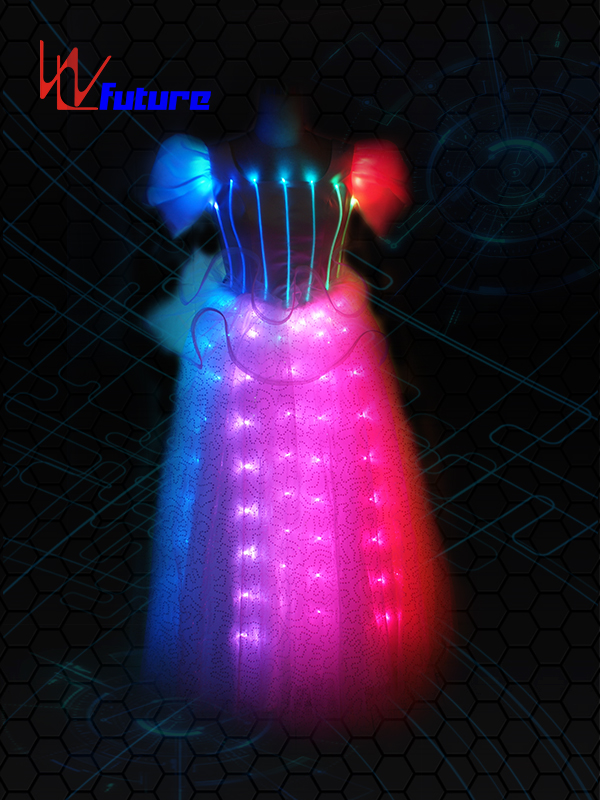 Cheap PriceList for Led Robot Mask - Girls fairy led light up dress WL-041 – Future Creative
