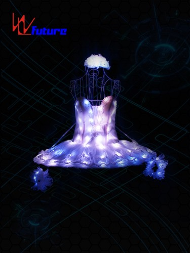 Future Full Color LED Light Up Ballet Tutu Dress Costume WL-0190