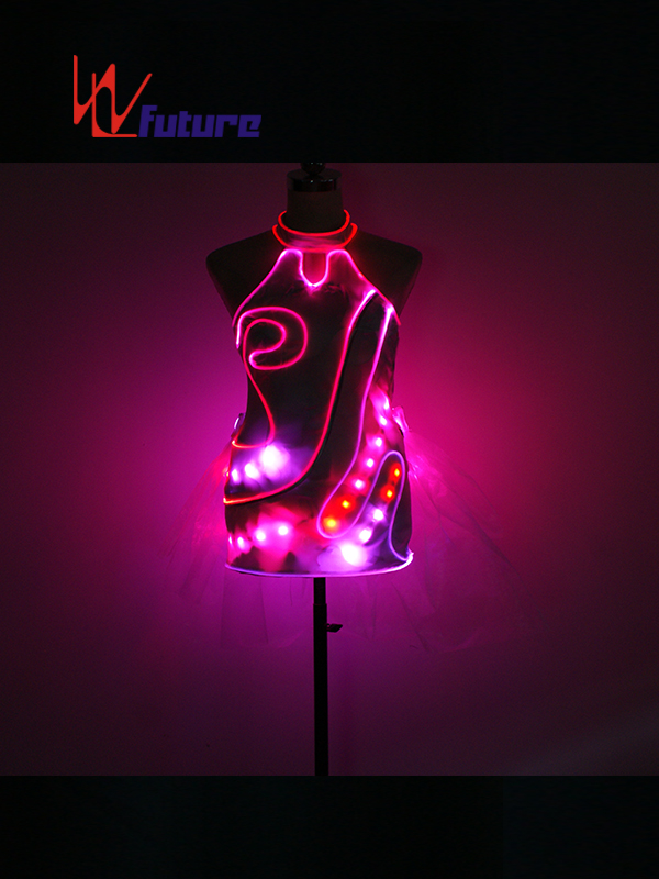 High reputation Tron Jacket - Chinese traditional LED cheongsam dress costume for show WL-0208 – Future Creative