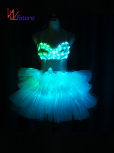 Custom Sexy LED Light Up Dress Costumes for Stage Performance WL-0213