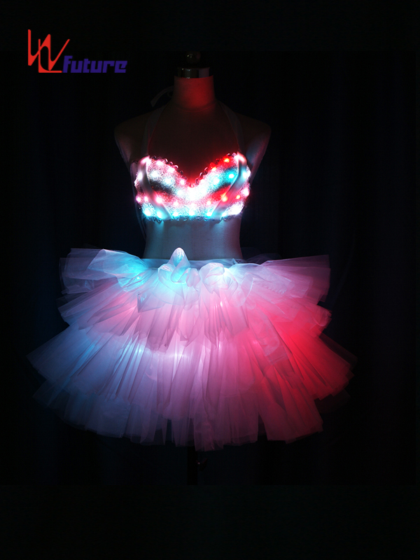 Custom Sexy LED Light Up Dress Costumes for Stage Performance WL-0213 Featured Image