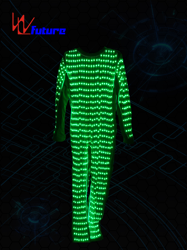 OEM/ODM Supplier Illuminated Costumes - Customized LED Pixel Costume for party WL-0144 – Future Creative