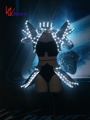 Custom Hot Sexy LED Lights Bra & Pants Costume For Dancing Performance WL-0258