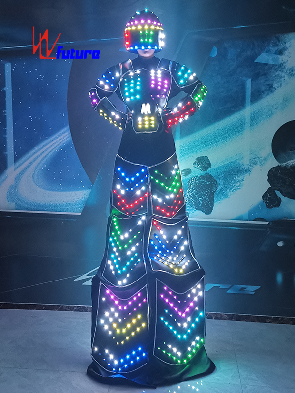 NEW Style Stilts Walkers' LED Robot Suit Costume WL-0276 Featured Image