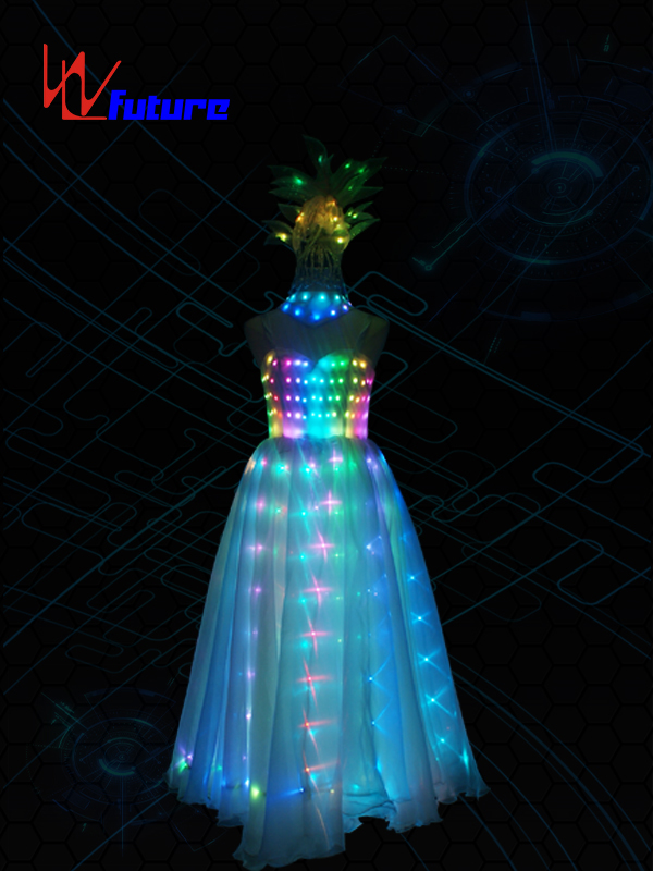 China Supplier Led Light Strip For Clothes - Full Color LED Prom Dresses,Glowing Costumes For Women WL-0198 – Future Creative