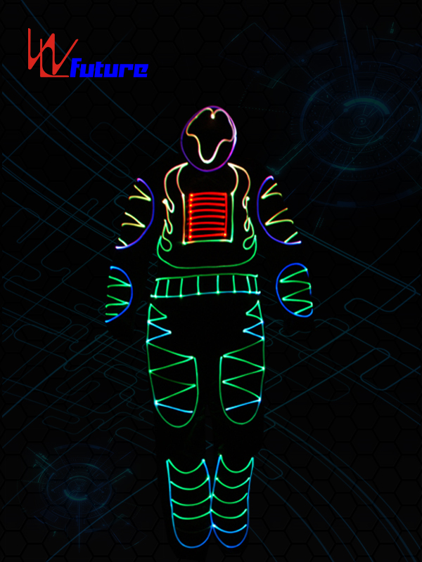 Full Color Optic Fiber Light Costumes WL-092 Featured Image