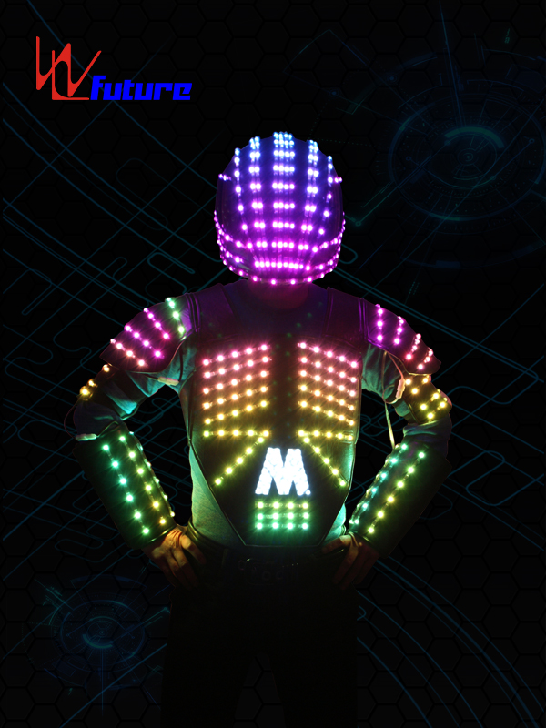 High reputation Tron Jacket - Color-changing LED Vest with Helmet WL-0102 – Future Creative