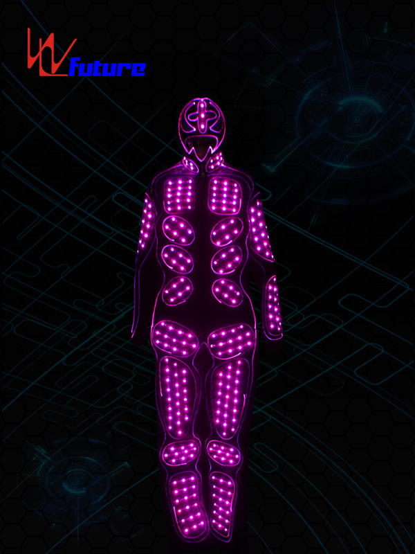 Manufacturer ofGlowing Robot Costume - LED Light up Jumpsuit for Dance WL-0127 – Future Creative