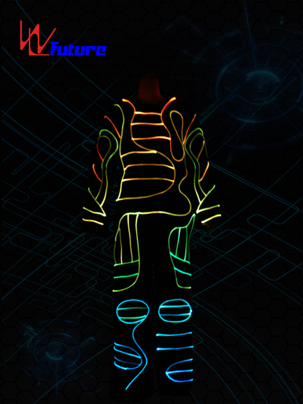 China OEM Luminous Halloween Costumes - Color changed Optic Fiber Light Costumes WL-088 – Future Creative