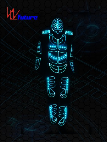 Demon LED Light Up Dance Tron Costume with Mask WL-0124