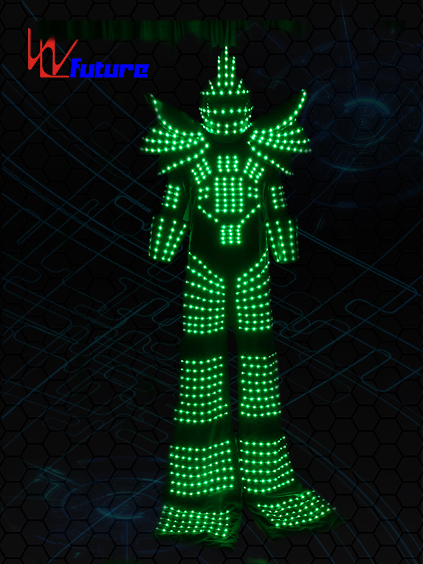 OEM/ODM China Blinking Led Jumpsuit - Stilt Walkers' LED Robot Suit WL-0130 – Future Creative