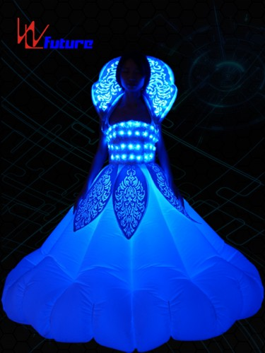 Custom Inflatable LED Dance Costumes, Light Up Rave Dress WL-0179