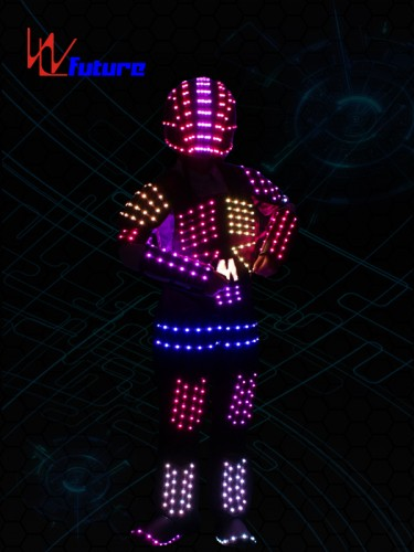 LED Tron Costume with Helmet WL-0159