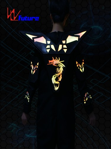 Future LED Cyborg Robot Warrior Costume for Dance Show WL-0183
