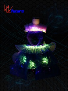 China Fiber Optic Prom Dress Manufacturers and Suppliers