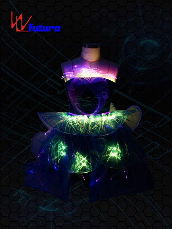 China Gold Supplier for Neon Light Suit - LED Dance show costumes for sale WL-011 – Future Creative detail pictures