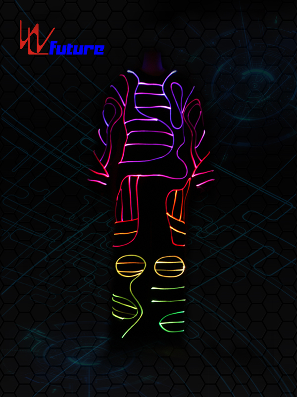 High reputation Led Glow Halloween Costumes - Led Light up Dance Costumes WL-01 – Future Creative Featured Image