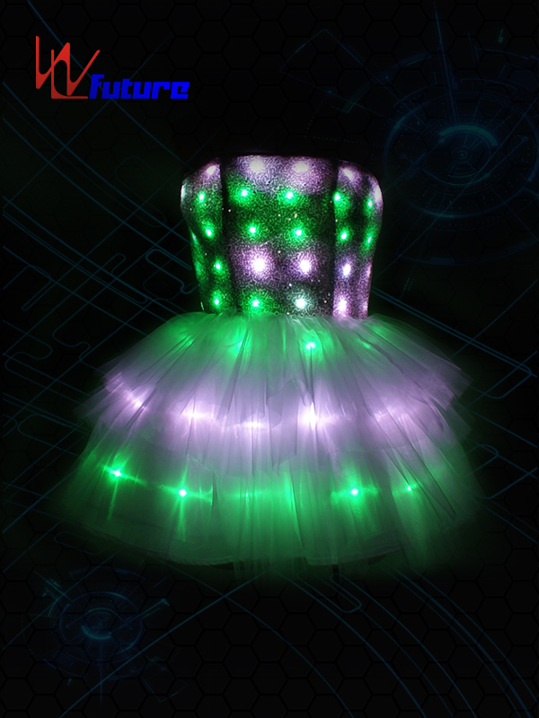 OEM Factory for Hip Hop Dance Wear - LED Light-up Short Skirt WL-0143 – Future Creative