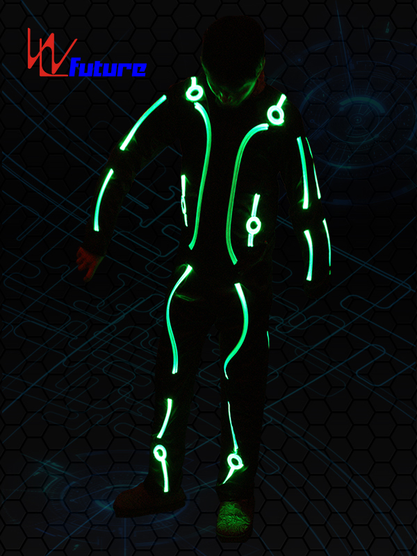 Original Factory Pixel Dress - light up tron costume for men WL-099  – Future Creative