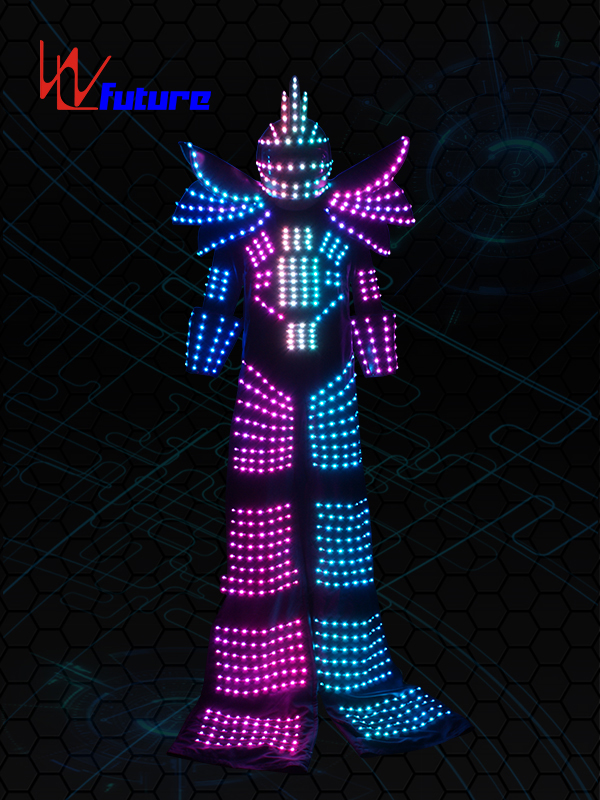 OEM/ODM China Blinking Led Jumpsuit - Stilt Walkers' LED Robot Suit WL-0130 – Future Creative Featured Image