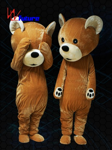 Custom Cartoon Mascot LED Teddy Bear Costume LED dance accesories WL-0228