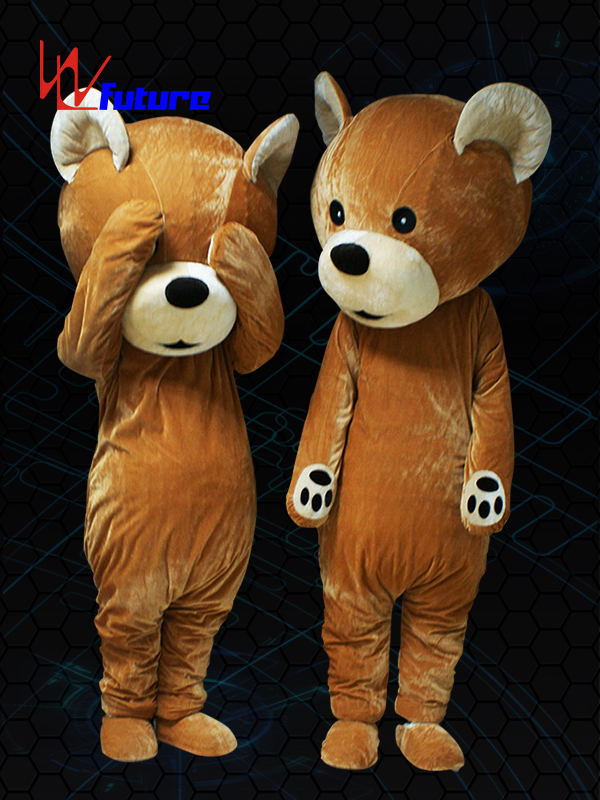 New Fashion Design for Led T Shirt Diy - Custom Mascot LED Bear Costume WL-0228 – Future Creative