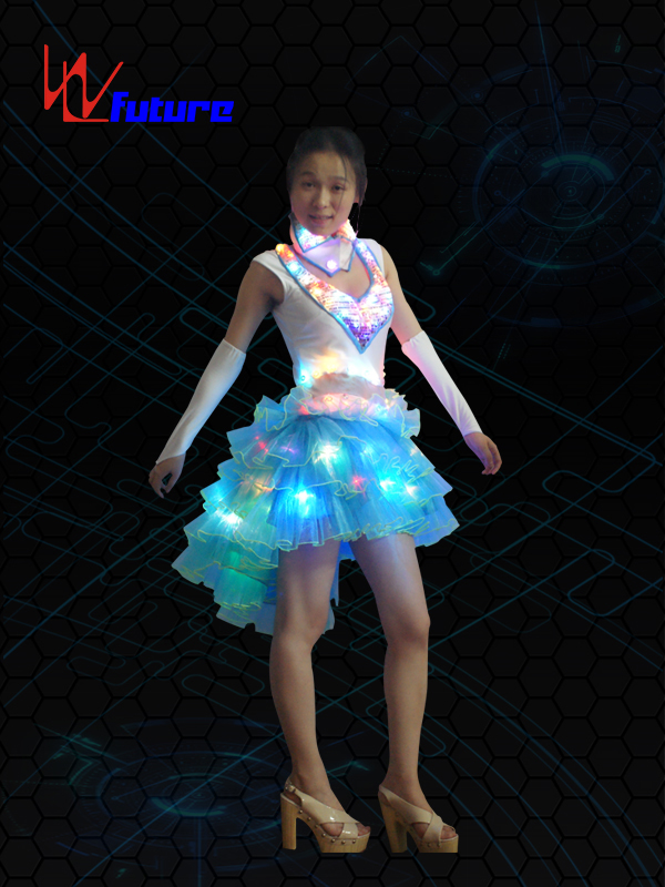 Discount Price Led Inflatable Costume - LED Light up Dance Dress Clothing WL-06 – Future Creative