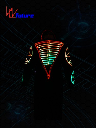 Full Color Optic Fiber Light Costumes WL-092