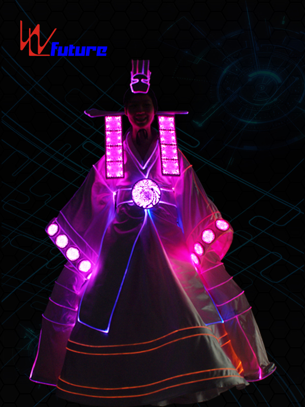 Low price for Led Skeleton Costumes - Amazing Korea style neon dress costume for women dance show WL-0249 – Future Creative