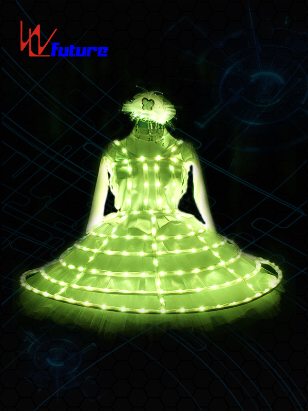 Manufacturer for Lights Outfits - LED Light up dress costume WL-0140 – Future Creative