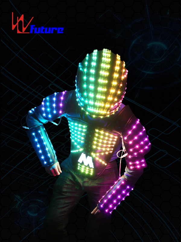 Best Price onSuper Mobile Power Supply - Color-changing LED Vest with Helmet WL-0102 – Future Creative