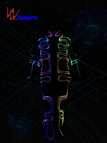 Best-Selling Men Glowing Tie El Wire Neon Led Luminous Party Haloween Christmas Luminous Light Up Decoration Dj Bar Club Stage Prop Clothing