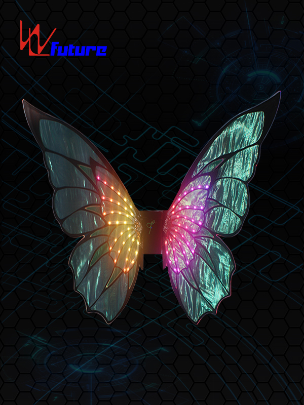 Factory wholesale Rainbow Led Wings - LED Light up butterfly wings props for dance show WL-0227 – Future Creative
