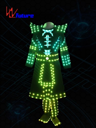 Future LED samurai suit costume for dance performance WL-0206