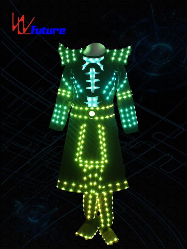 Manufacturing Companies for Led Tron Suit - Future LED samurai suit costume for dance performance WL-0206 – Future Creative Featured Image
