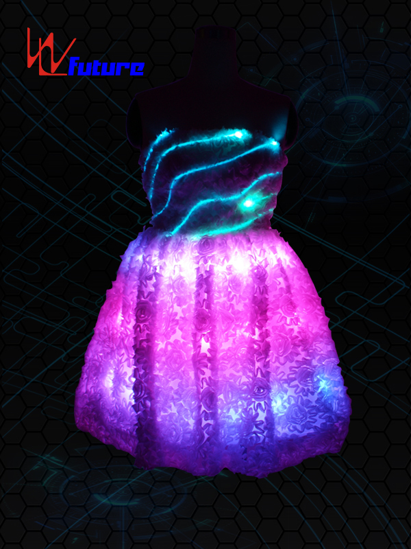Well-designed Led T Shirt Technology - Neon light Evening Dress LED Clothing WL-07 – Future Creative Featured Image