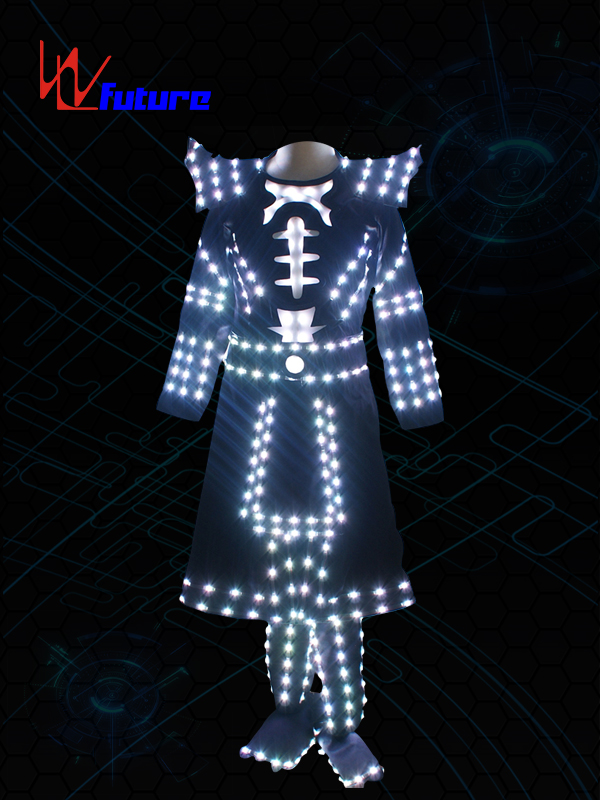 Manufacturing Companies for Led Tron Suit - Future LED samurai suit costume for dance performance WL-0206 – Future Creative