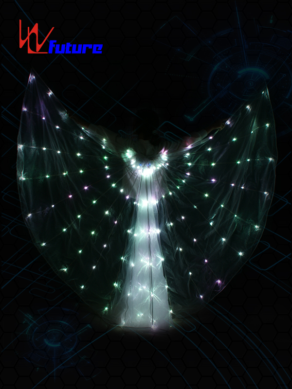 Good quality Led Light Halloween Costumes - LED light up Isis Wings WL-0160 – Future Creative