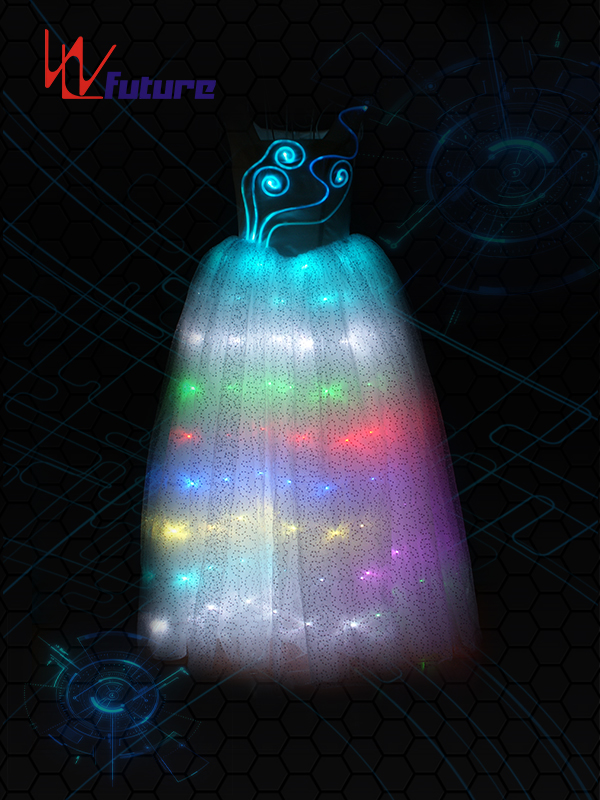 Factory selling Christmas Costumes For Men - LED light up dance performance dress WL-049 – Future Creative