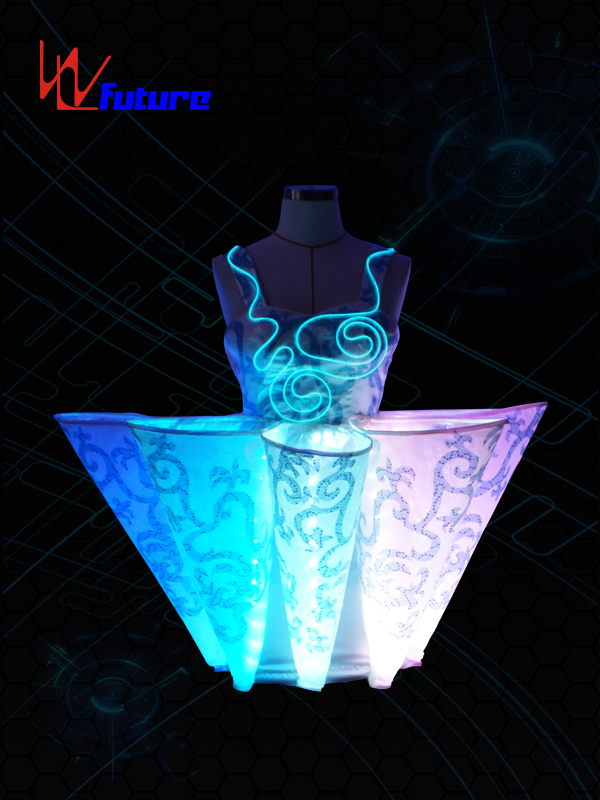 OEM Supply Led Stilt Walker Costume - LED light up costumes for dance WL-010 – Future Creative