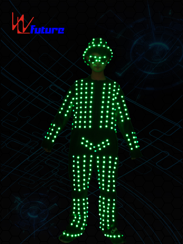High PerformanceSuit Dance Costume - Dance stage wear LED costumes with helmet,glasses,shoes WL-0106 – Future Creative Featured Image