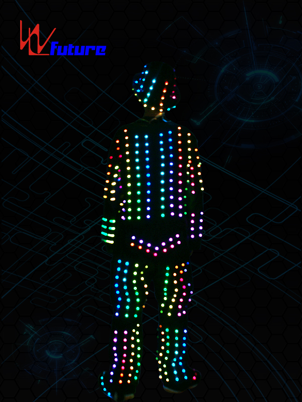 High PerformanceSuit Dance Costume - Dance stage wear LED costumes with helmet,glasses,shoes WL-0106 – Future Creative