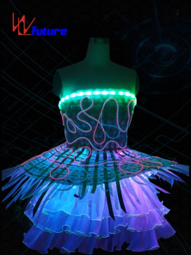 Full Color LED & Fiber optic skirt WL-012