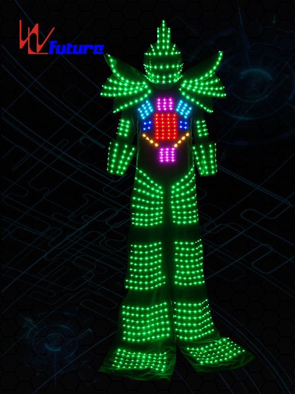 100% Original Led Shoe Covers - China wholesale Full Color Change Led Robot Costume,Custom Robot Led – Future Creative